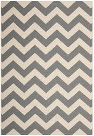 Outdoor Chevron Rug Safavieh Courtyard Collection Cy6244 246 Grey And