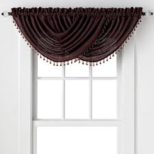 amazon com 2 pack beaded emerald crepe waterfall valances