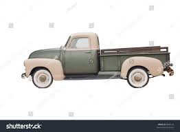 Vintage Ford Truck Hubcaps - twotone vintage pickup wood rails stock photo 5689120 shutterstock