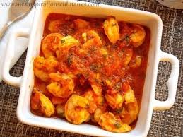 cuisine crevette crevettes sauce tomate facile cuisine du mon