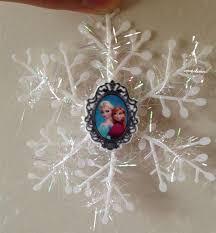 wholesale frozen elsa snowflakes tree decorations
