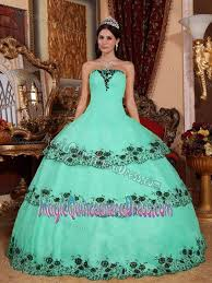 dresses for sweet 15 sea green new quinceanera dresses