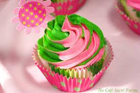 swirly girly white chocolate cupcakes w vanilla bean icing the