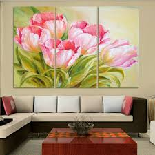 Home Wall Painting by Online Get Cheap Tulip Paintings Aliexpress Com Alibaba Group