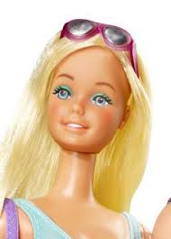 1979 malibu barbie here s the evolution of barbie s face over
