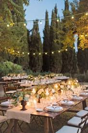 Backyard Wedding Lighting Ideas 55 Backyard Wedding Reception Ideas You U0027ll Love Happywedd Com