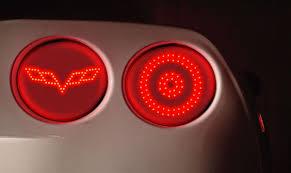 crossed flags lights corvetteforum chevrolet corvette