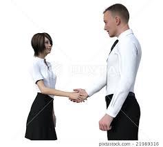 business greeting business businesses greeting stock illustration 21989316 pixta