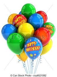 happy birthday balloon happy birthday balloons colorful party balloons celebrating