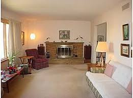 long narrow living room with fireplace in center what to do with fireplace exterior