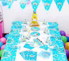 baby boy birthday themes blue price crown boy birthday theme party tableware set baby