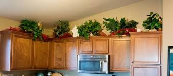 greenery above kitchen cabinets vibrant idea 27 want an easy fix