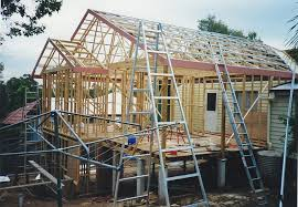 how to build a two story house timber frames vs steel frame homes aaron building