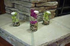 another view of center pieces clear 6 shape flower glass vase fish tank home decoration