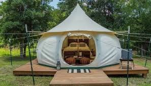 airbnb platform builds for your lotus belle tent jessica haden