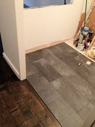 Laminate Flooring Slate Tile Laminate Is Perfect For Kitchens Or Bathrooms Faus