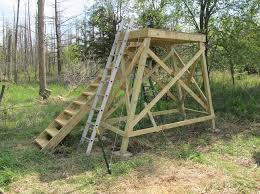 Stand Up Hunting Blinds Tower Deer Stand Project Ron U0027s Outdoor Blog