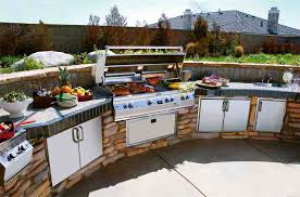 outdoor bbq kitchen ideas outdoor kitchen grill barbecue with an outdoor