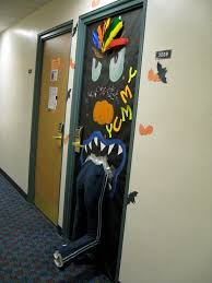 Halloween Door Decoration Contest Holiday Knowledge To Survive Freshman Year Of College