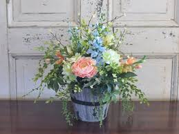 Silk Flowers Arrangements - 1034 best table centerpieces images on pinterest table