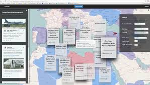 World Map Malta Showing Malta by Journalist Decision Support System Jdss Reveal
