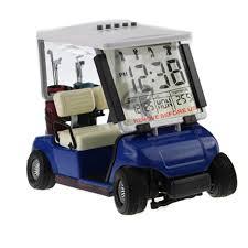 mini golf de bureau crestgolf mini golf cart réveil lcd numérique affichage de la date