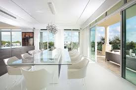 Modern Dining Room Sets Miami Adding A Special Element To Modern Miami Interiors From Dkor Interiors