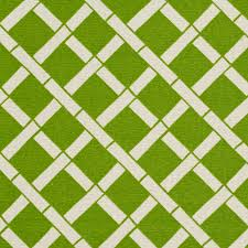 spring green and white bamboo print upholstery fabric