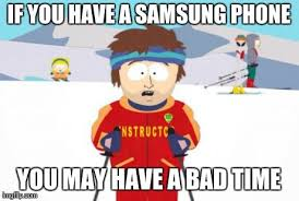 Samsung Meme - my phone jumped ahead 2 hours imgflip