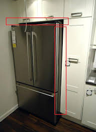 how to make your fridge look like a cabinet glass door ge beverage refrigerator glass door glass door salary