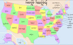 united states map with state names capitals and abbreviations united states map with state names capitals and abbreviations