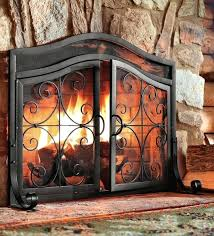 Hand Painted Fireplace Screens - bend road farm hand painted fireplace screen ideas with tile tv