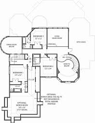 Floor Plan Of by Hennessey House 7805 4 Bedrooms And 4 Baths The House Designers
