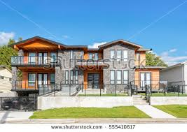 style house luxury west coast style house beautiful stock photo 555410617