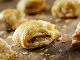 easy nutella breakfast brunch pastry puffs recipe