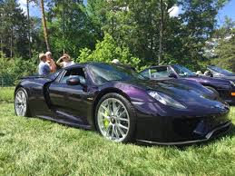 Porsche 918 Black - one of a kind purple porsche 918 spyder u2013 motortorque
