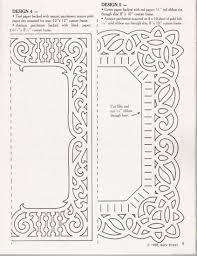 paper cut frame template paper cutters patterns u0026 templates