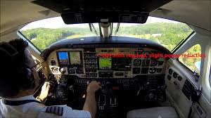 king air b100 flight real time cockpit view with atc youtube