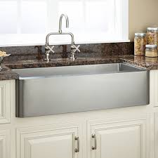Stainless Sinks Kitchen Best Stainless Steel Farmhouse Kitchen Sinks Leandrocortese Info