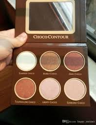 2017 brand diow choco contour kit highlighter powder palette