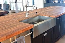 countertops beech face grain island top with waterlox satin