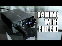 Best Game Setups Best In Game Amp Out by Fiio Olympus E10 Headphone Amp U0026 Dac For Gaming Youtube