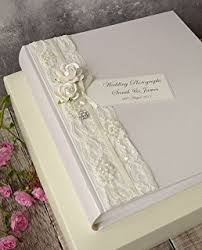 traditional wedding albums kenro fleur large traditional wedding album white page size