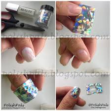 tutorial nail art foil and woooh here is that nail foil tutorial i promised you all a