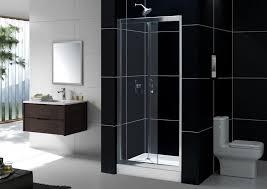 Shower Door 36 Dl 6214 Butterfly Frameless Bi Fold Shower Door And Slimline 36
