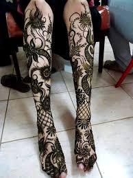 45 simple mehandi designs for legs