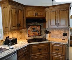 Southwest Outdoor Furniture by Tile Backsplash Kitchen Horse Tile Mural Southwest Horse 3 Tile