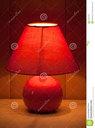 red table lamp stock photo image of energy hotel macro 34507806