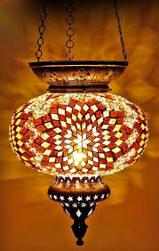 turkish moroccan hanging glass mosaic lamp candle id 8510291