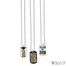 graduation dog tags graduation dog tag necklaces